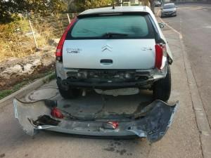 קונה מכוניות משומשות לאחר תאונה