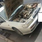 רכב עם בעיות רבות במנוע שלבסוף נמכר לפירוק