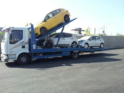 גרירת מכוניות לפירוק